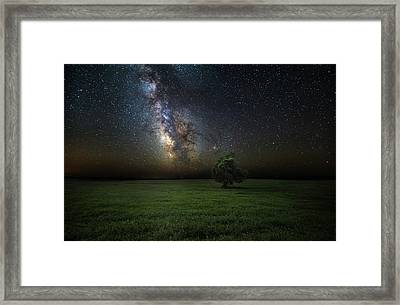 Eternity Framed Print by Aaron J Groen