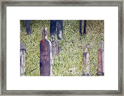 Eternity In Hoonah Framed Print by Larry Wright