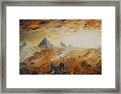 Eternity Framed Print by Richard Barham