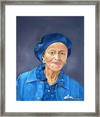 Ethel Pearl Framed Print