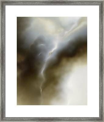 Ether 1 Framed Print by Vic Eberly