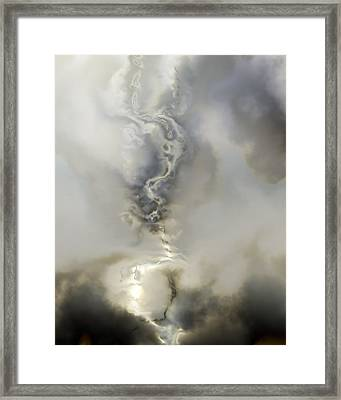 Ether 2 Framed Print by Vic Eberly