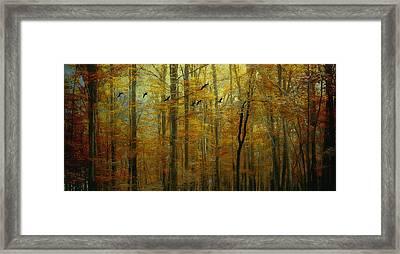 Ethereal Autumn Framed Print