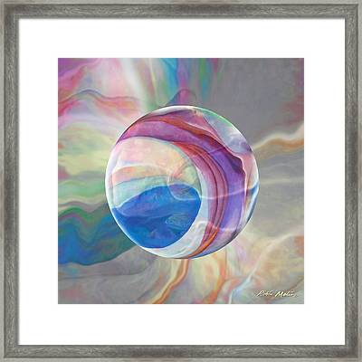 Framed Print featuring the painting Ethereal World by Robin Moline