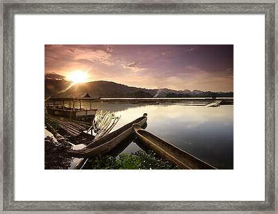 Ethereal Glow Framed Print
