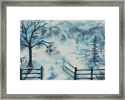 Ethereal Morning  Framed Print