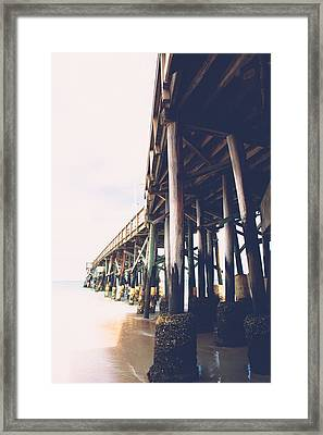 Ethereal Pierscape Framed Print
