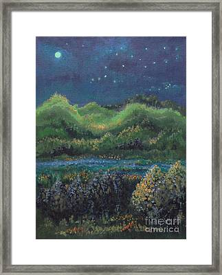 Ethereal Reality Framed Print