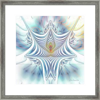 Framed Print featuring the digital art Ethereal Treasure by Jutta Maria Pusl