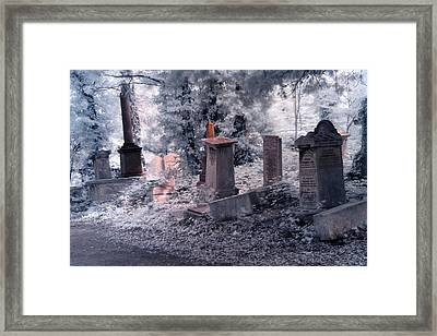 Ethereal Walk Framed Print by Helga Novelli