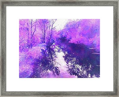 Ethereal Water Color Blossom Framed Print