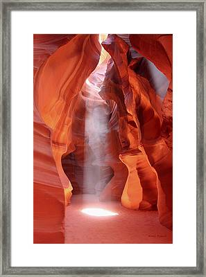 Ethereal Framed Print by Winston Rockwell