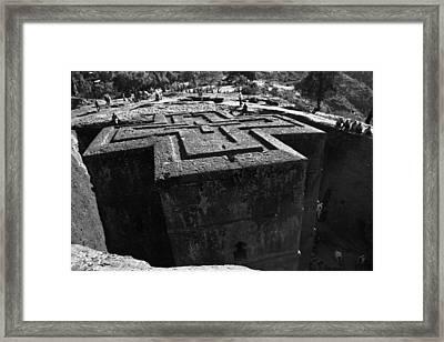 Ethiopia-north 4 Framed Print by John Battaglino