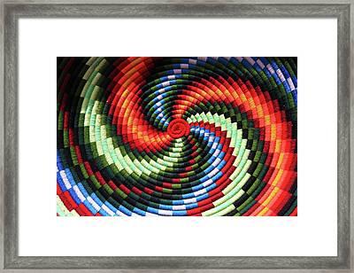 Ethiopian Craft's Framed Print