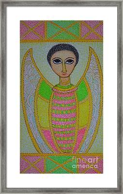 Ethiopian  Orthodox Angel Framed Print