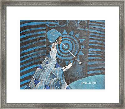 Ethno Session  Framed Print