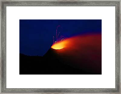 Etna Framed Print
