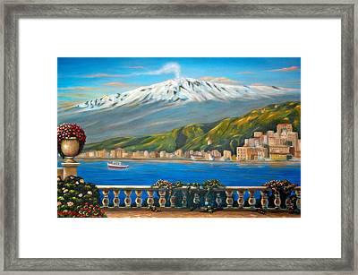 Etna Sicily Framed Print