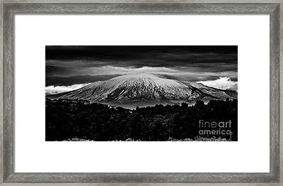 Etna, The West Side Framed Print