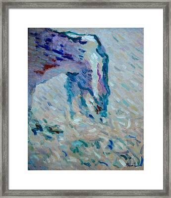 Etretat-2 Framed Print