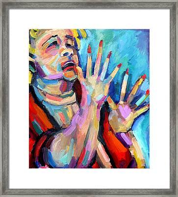 Etta James- At Last Framed Print by Jackie Merritt