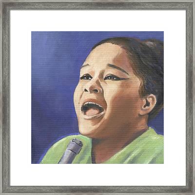 Etta James Framed Print