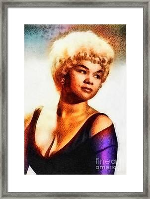 Etta James, Music Legend Framed Print
