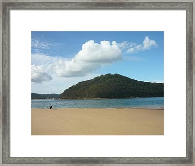 Ettalong Beach Framed Print by Adrianne Wood