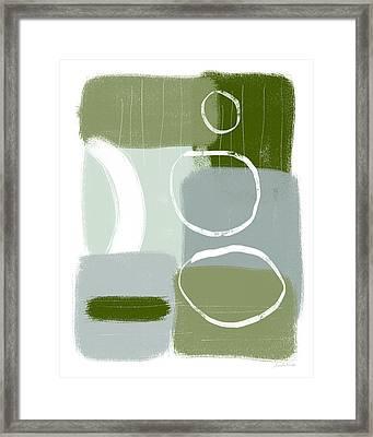 Eucalyptus Breeze  2- Art By Linda Woods Framed Print