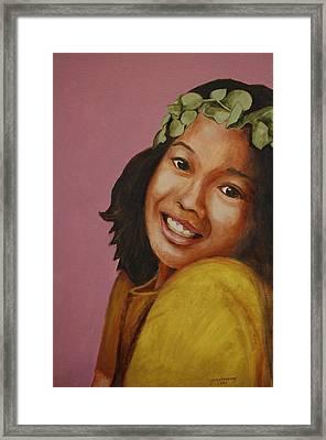 Eucalyptus Princess Framed Print by Jun Jamosmos