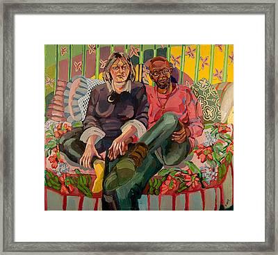 Eugene And Joanna Framed Print