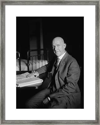 Eugene Debs Framed Print
