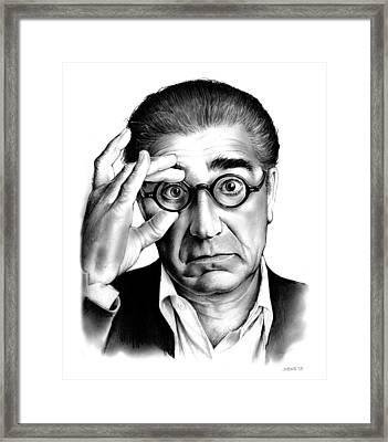 Eugene Levy Framed Print by Greg Joens