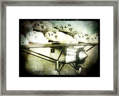 Framed Print featuring the digital art Eugenics 101 by Delight Worthyn
