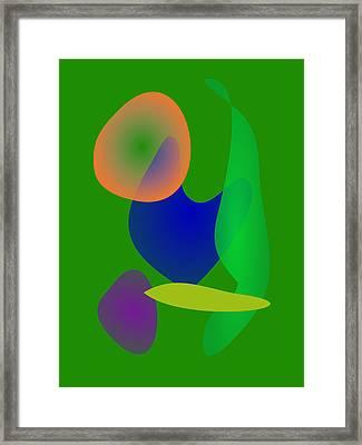 Euglena World Framed Print