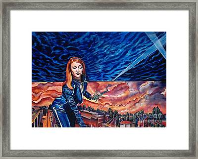 Euphoria Hits The Town-sold Framed Print by Mirinda Reynolds