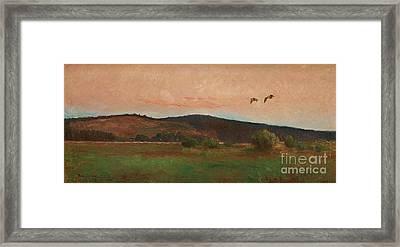 Eurasian Woodcocks Framed Print by MotionAge Designs