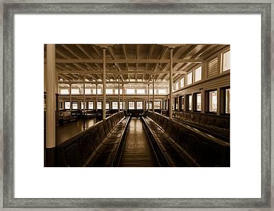Eureka Ferry Framed Print