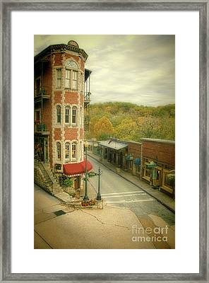 Eureka Springs Framed Print by Jill Battaglia