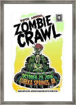 Eureka Springs Zombie Crawl 2016 Framed Print