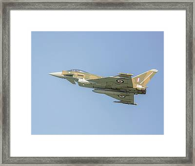 Euro Fighter Framed Print by Roy McPeak