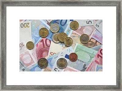 Euro Framed Print