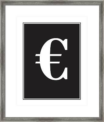 Euro Wall Decor Print Framed Print