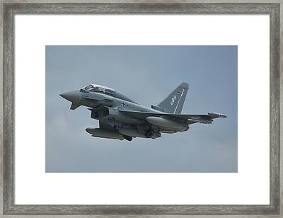 Framed Print featuring the photograph Eurofighter Ef2000 by Tim Beach