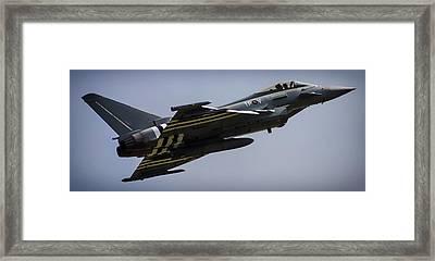 Eurofighter Framed Print by Martin Newman