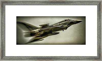 Eurofighter Typhoon Framed Print by Martin Newman