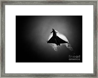 Eurofighter Typhoon Framed Print by Rastislav Margus