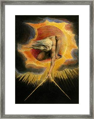 Europe A Prophecy Framed Print by William Blake