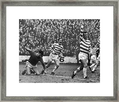 European Cup, 1970 Framed Print