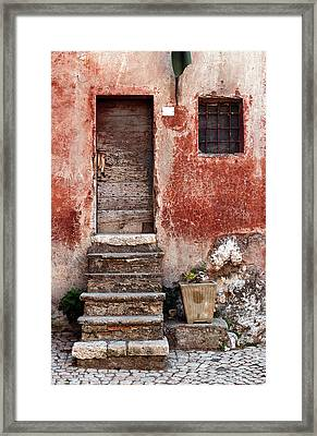 European Door I  Framed Print by Jason Evans